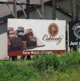 Coblentz Chocolate Billboard